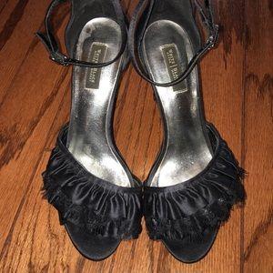 White House Black Market size 8 black heels